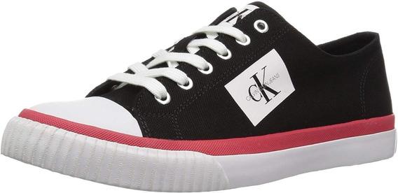 Tenis Calvin Klein Hombre Canvas Casual 100% Original Nuevo