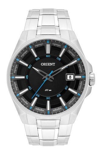 Relógio Orient Masculino Prata Mbss1313 Pasx Calendário