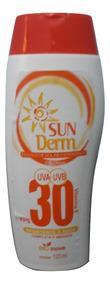 Protetor Solar Hidratante Sun Derm 30 120ml