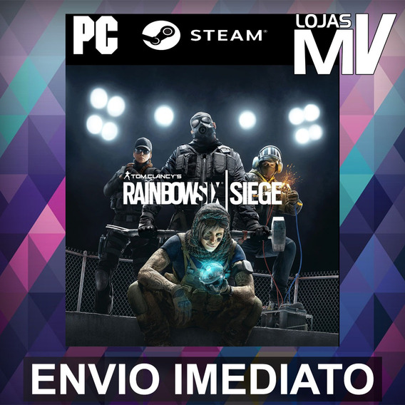 Rainbow Six Siege Pc Steam Gift Presente