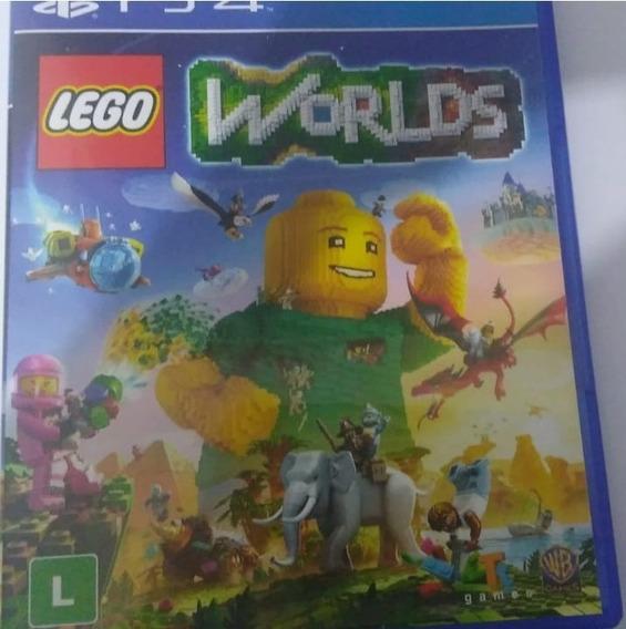 Jogo Ps4 Usado - Lego Worlds