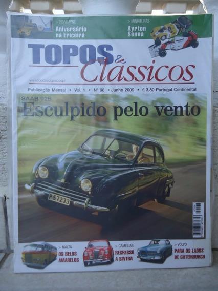 Topos & Classicos N°98 Saab 92b Volvo Miniatura Ayrton Senna