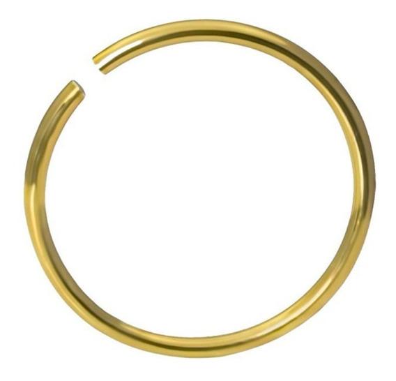 Piercing Ouro Amarelo 18 K,de Nariz.