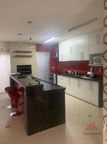 Casa Com 4 Dormitórios À Venda, 207 M² Por R$ 550.000 - Parque Novo Mundo - Americana/sp - Ca2941