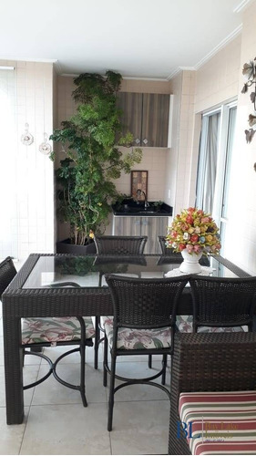 Imagem 1 de 15 de Apartamento 91 M - Água Rasa - Sacada Gourmet  - Estuda Permuta - Ap00529e