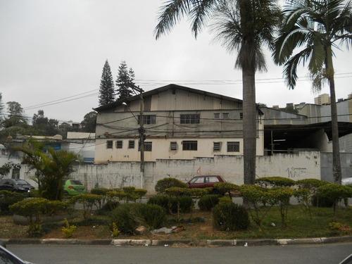 Galpão Comercial Para Locação, Chácaras Marco, Barueri. - Ga0045