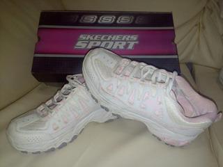 Zapatos Originales Sckechers De Dama Talla 37