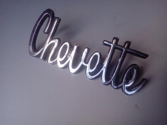 Logotipo Original Chevrolet Chevette 1977