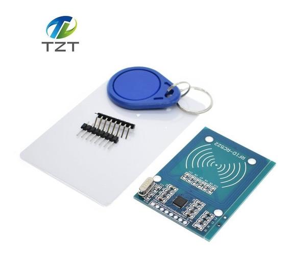 Modulo Rfid-rc522 13.56mhz Cartao Brancos50 Arduino