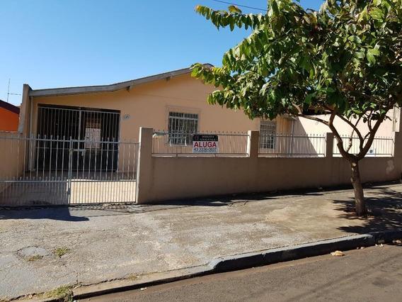 Casa Residencial Para Locação, Aquilles Sthengel, Londrina. - Ca0061