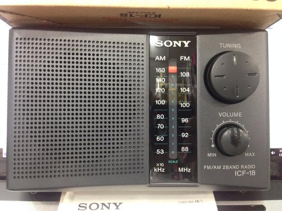 Radio Am-fm Originales.sony Icf.18 Nuevos Portatil