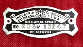 Plaqueta Para Relógio Cuco H Modelo 203