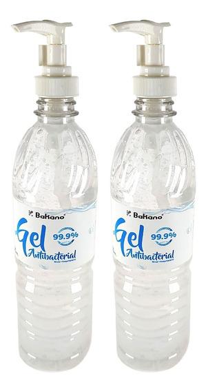 Gel Antibacterial Para Manos 2 Botellas De 600 Ml Cada Una