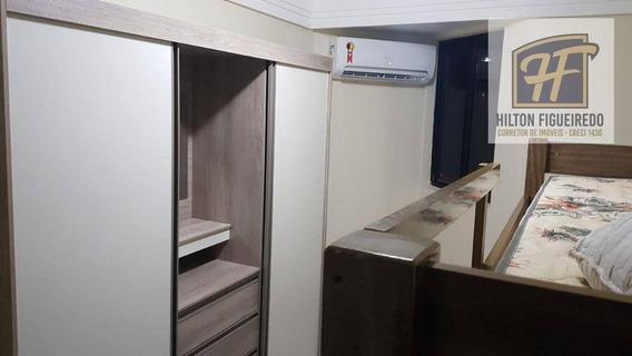 Apartamento Para Alugar, 78 M² Por R$ 1.800,00/mês - Intermares - Cabedelo/pb - Ap5915