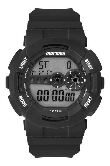 Relógio Mormaii Masculino Preto Redondo - Mo9210aa/8p