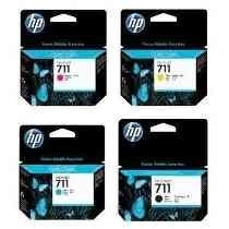 Cartuchos Hp 711 Todas As Cores Com 80ml Original
