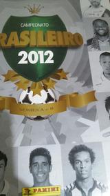 Álbum Campeonato Brasileiro 2012 Completo.