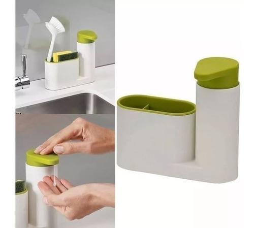 Dosificador Dispenser Jabon Detergente Pileta 2 En 1 Oferta! *** Ilumina-2 *** Mercadolider Platinum Importadores!