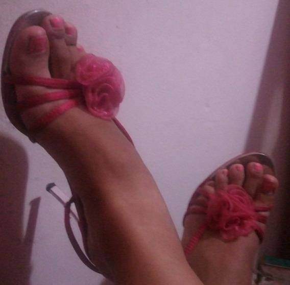 Elegantes Sandalias Para Dama N° 39
