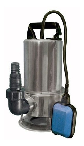 Bomba Sumergible Desagote Fluvial 1 Hp Pileta Portatil Acero