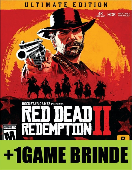 Red Dead Redemption 2 Ultimate Edition Xbox One Mídia