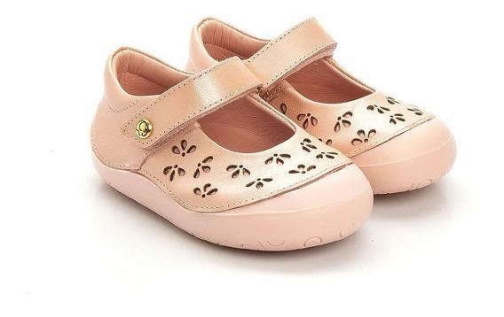 Sapatilha Feminina Infantil Gambo New Steps Gloss Rose