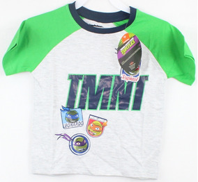 Playera Para Niño Marca Nickelodeon Tortugas Ninja Talla 3