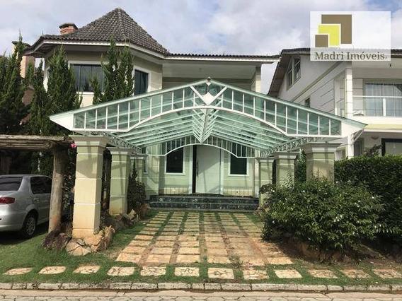 Casa Com 4 Dormitórios À Venda, 497 M² Por R$ 1.380.000 - Jardim Floresta - Atibaia/sp - Ca0062