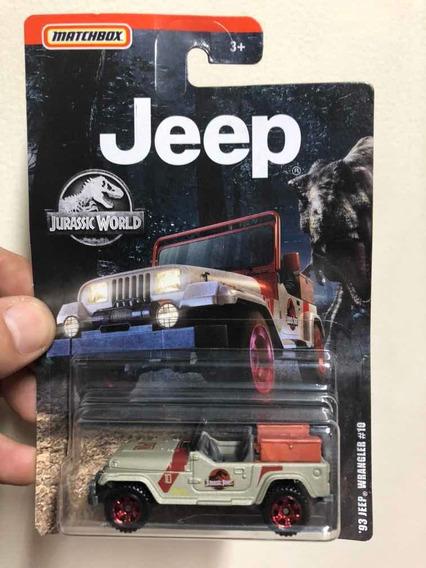 Matchbox Jurassic Park / World Jeep Wrangler Tj 1993 #10