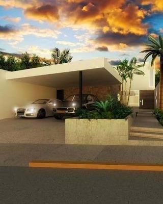 Casa En Pre-venta De Una Planta En Colonia Maya