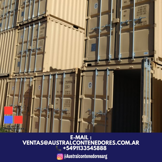 Contenedores Maritimos Containers 20´ Mar Del Plata Bs As