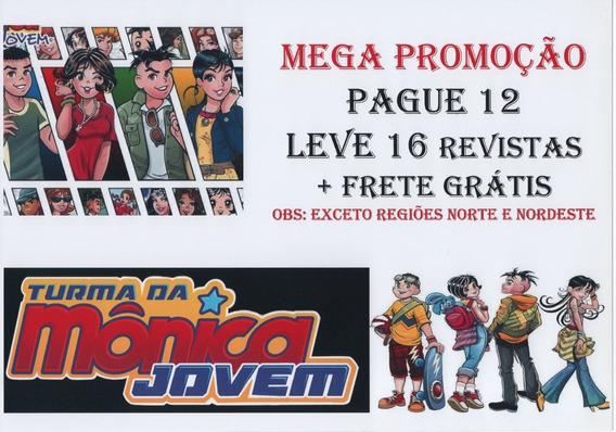 Kit Turma Da Mônica Jovem 12 Unidades