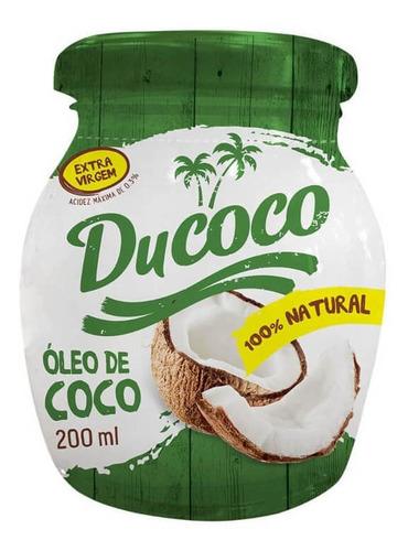 Imagem 1 de 1 de Ducoco Óleo De Coco 200ml