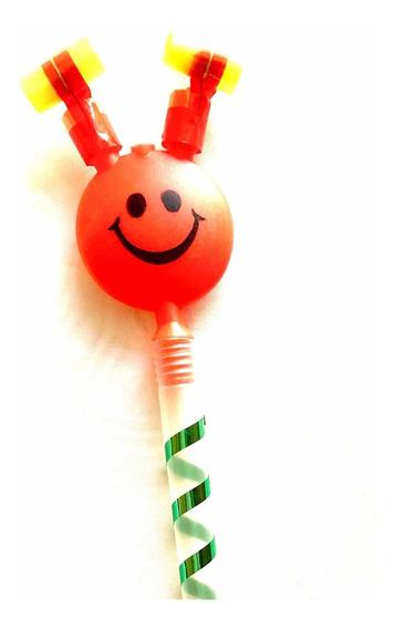 40 Espanta Suegras Colores Surtidos Fiestas Cumpleaños Emoji