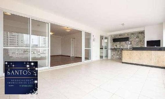 Apartamento Com 4 Dormitórios À Venda, 160 M² Por R$ 1.160,00 - Santo Amaro - São Paulo/sp - Ap0581