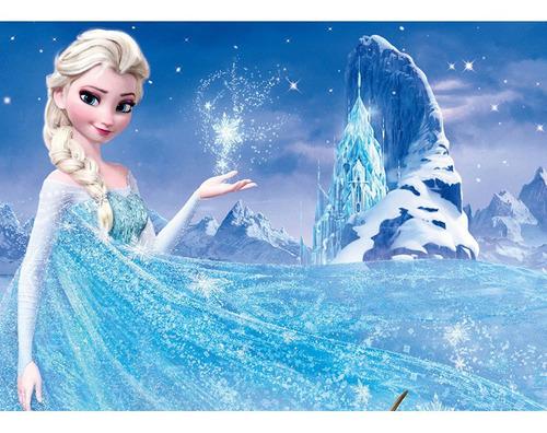 Pintura Numerada Frozen _p2