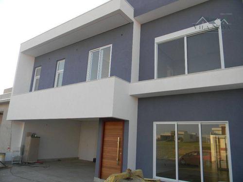 Casa Com 3 Dormitórios À Venda, 295 M² Por R$ 1.700.000,00 - Condomínio Dona Lucilla - Indaiatuba/sp - Ca0580