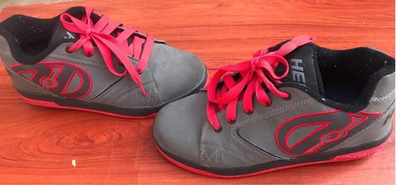 Zapatos Con Ruedas Marca Heelys Talla 7us 39 Eur