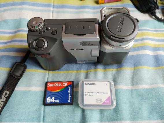 Câmera Digital Casio Qv-8000sx Funcionando
