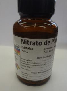 Nitrato De Plata Químicamente Puro 5 Gramos
