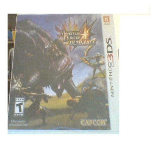 Jogo Nintendo 3ds Monster Hunter 4 Ultimate Completo