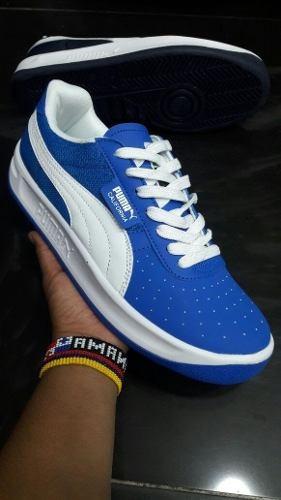 Tenis Zapatillas Puma California Azul Hombre Envio Gratis