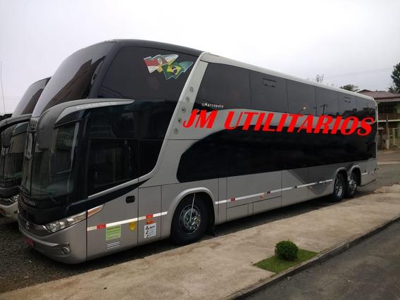 Paradiso Dd 1800 G7 Ano 2013 Scania K400 Turismo Jm Cod 695