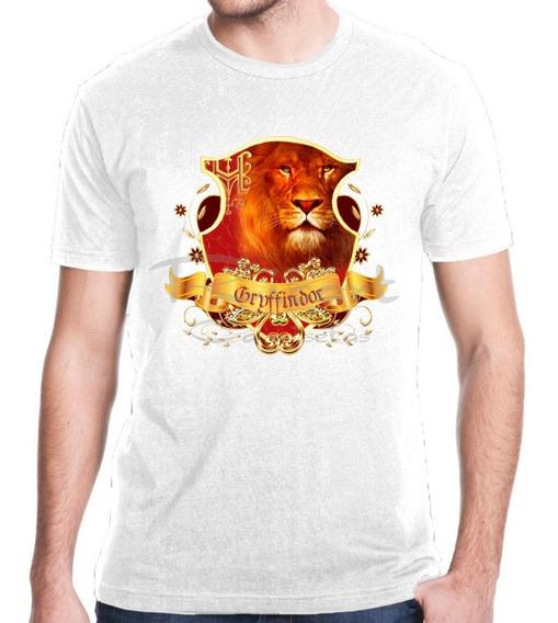 Camiseta Harry Potter Hogwarts Grifinoria Gryffindor Mod 24