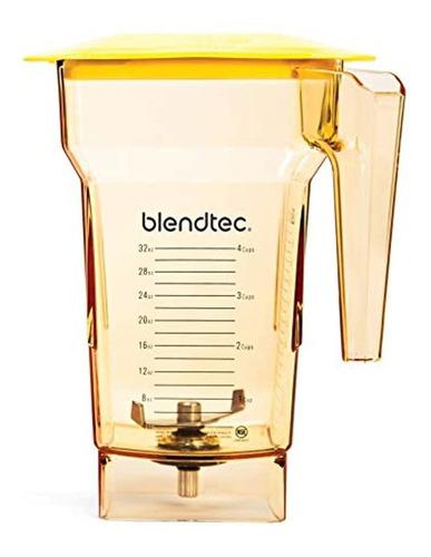 Vaso Para Licuadora Blendtec Y Cuchilla, Tapa, 100368