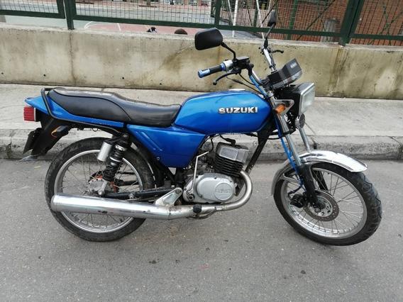 Moto Suzuki Ax 100cc 1995 Barata $1,250.000 Bogota