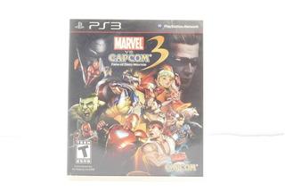 Marvel Vs. Capcom 3 - Ps3 ¡fisico-usado! Sin Manual