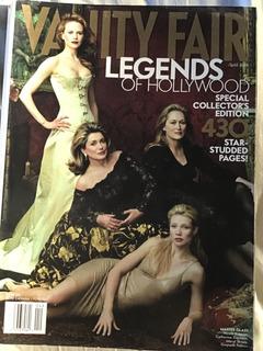 Revista Vanity Fair April 2001 -importada -americana