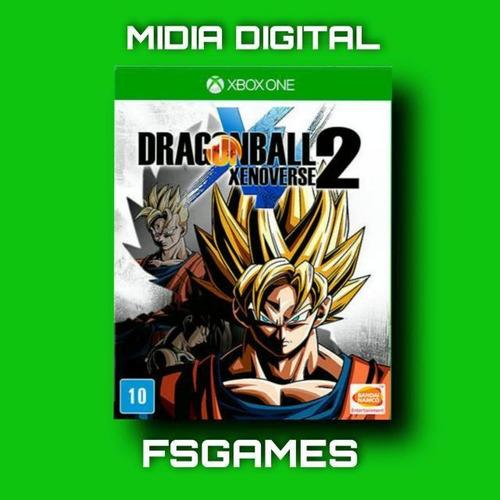 Imagem 1 de 1 de Dragon Ball Xenoverse 2 Mídia Digital Xbox One