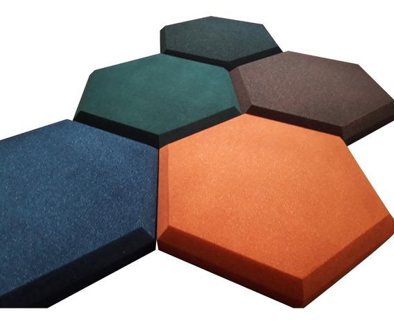Paneles Acústicos Hexagonales Y Rectangulares Biselados
